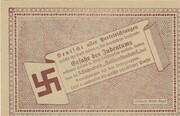 50 Heller (Amstetten, Schutzverein Antisemitenbund) – revers