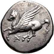 Stater (Anaktorion) – avers
