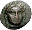 Bronze Æ17 (Anaphe) – avers