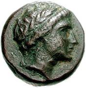 Bronze Æ14 (Anaphe) – avers
