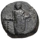 Bronze Æ11 (Anaphe) – avers