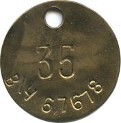 Jeton - 35 Military Unit (67678) – avers