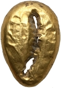 Cowrie (Gold-plated bronze imitation) – avers