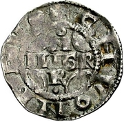 1 Pfennig - Konrad II. and Pilgrim – avers