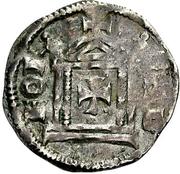1 Pfennig - Konrad II. and Pilgrim – revers
