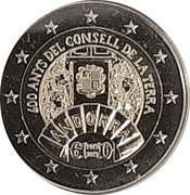 2 euros Conseil de la Terre -  avers