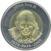 1 diner (Pape Jean Paul II) – revers