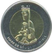 1 diner (Notre Dame de Meritxell) – revers