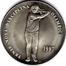 2 diners Jeux olympiques d'été de 1988 – revers