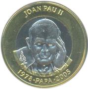 2 diners (Pape Jean Paul II) – revers