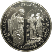 5 diners (cercle des arts) -  revers