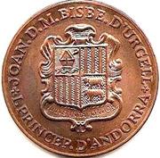 5 diners (2ème Congrès de langue catalane) -  avers