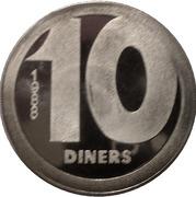 10 diners (Sant Joan de Caselles) -  revers