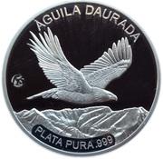 5 Dinar - Golden Eagle -  revers
