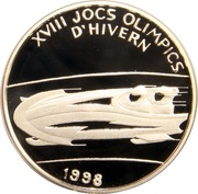 2 Diners (1998 Winter Olympics) – revers