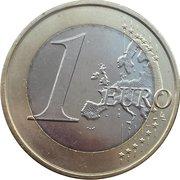 1 euro -  revers