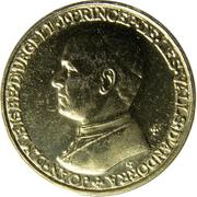 1 diner - Joan Martí i Alanis (Joan D'Urgell I) -  revers