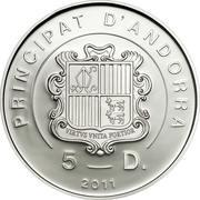 5 Diners (Beatification of John Paul II) -  avers