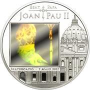 5 Diners (Beatification of John Paul II) -  revers