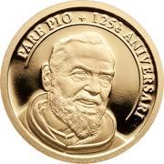 2 Diners (Saint Pio of Pietrelcina) -  revers