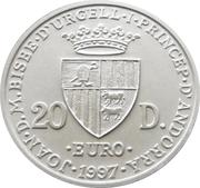 20 diners - Traité de Rome – avers
