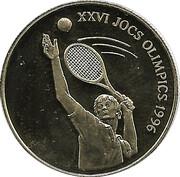 25 Diners. Tenis. Atlanta 1996 -  avers