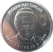 10 cèntims Benoît XVI – revers