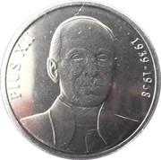 25 cèntims Pie XII -  revers