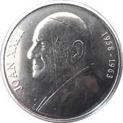50 cèntims Jean XXIII – revers