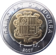 1 diner Paul VI – avers