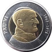 1 diner Paul VI – revers