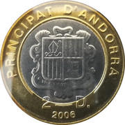 2 diners Benoît XVI – avers