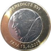 2 diners Benoît XVI – revers