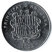 10 cèntims Sant Joan de Caselles – avers