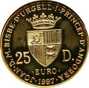 25 diners - Traité de Rome -  avers