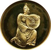 25 diners - Traité de Rome -  revers
