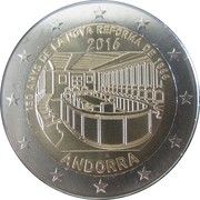 2 euros Nouvelle Réforme -  avers