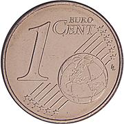 1 cent d'euro – revers
