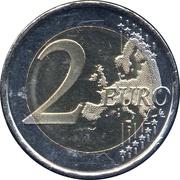 2 euros Constitution d'Andorre – revers