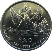 1 cèntim - Joan Martí i Alanis (FAO) – revers