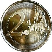 2 euros  Déclaration universelle des droits de l'homme – revers