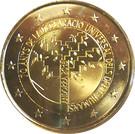 2 euros  Déclaration universelle des droits de l'homme – avers
