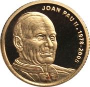 2 diners Jean-Paul II 2009 – revers