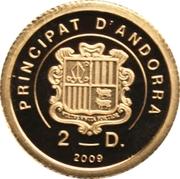 2 diners Jean-Paul II 2009 – avers