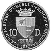 10 diners - Traité de Rome – avers