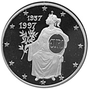 10 diners - Traité de Rome – revers
