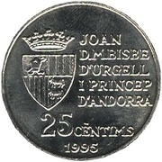 25 centimes FAO -  avers
