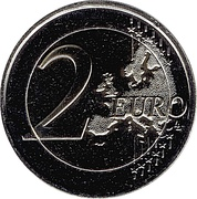 2 euros Hymne d'Andorre – revers