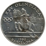20 Diners (Jeux olympiques Barcelone 1992) -  revers