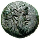 Bronze Æ16 (Andros) – avers